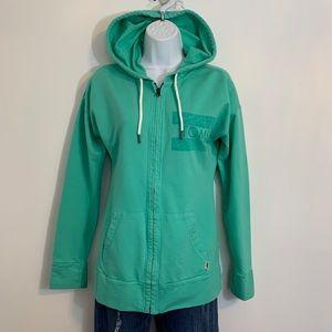 Toms green zip up in excellent condition. Medium